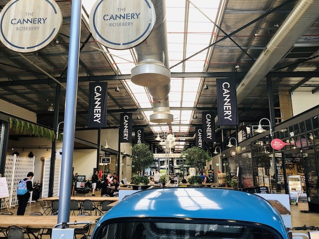 Canneryの店内